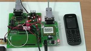 Bank Locker Security System Using Gsm And Vibration Sensor