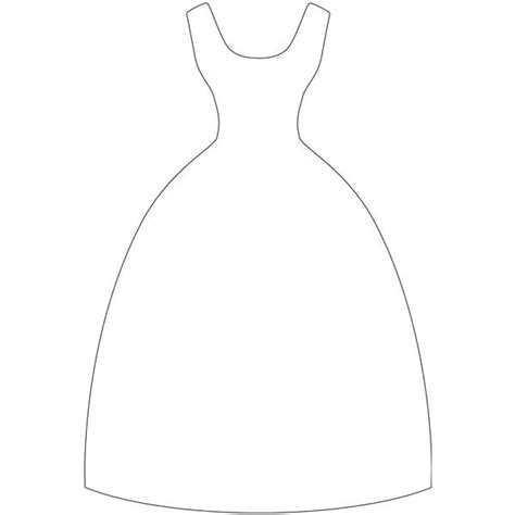 dress template dress template you never when you might need one crafts cards craft and