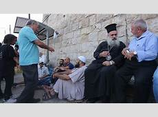 Palestinian Christians, Muslims Stand Together in AlAqsa