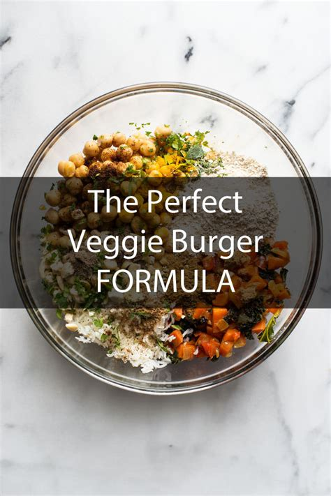 burger veggie burgers vegetarian ingredients recipe perfect vegan recipes formula making ever healthy hand already meals thecookful topic food learn