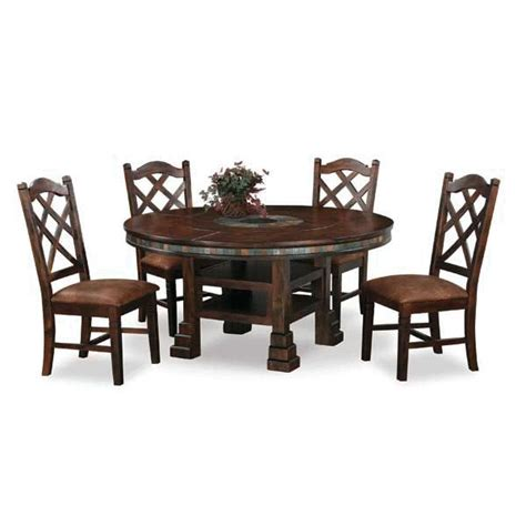 santa fe 5 piece dining set sf 1225 5pc dining rooms by