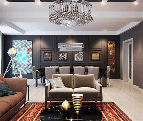 style home interior design a modern interior home design which combining a