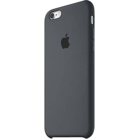 iphone 6 cases apple apple iphone 6 6s silicone charcoal gray mky02zm a b h
