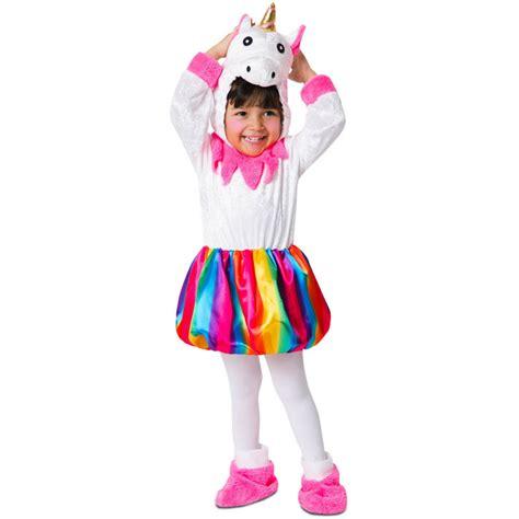 Disfraz de Unicornio Colorido para Niña Comprar Online
