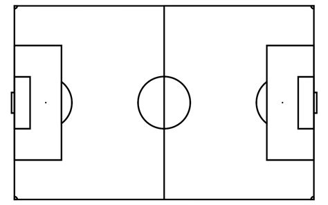 Blank Football Field Template by Blank Soccer Field