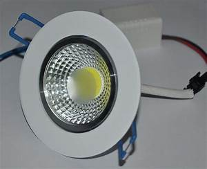 Newest w led cob chip downlight recessed