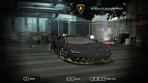 speed  wanted lamborghini centenario lp