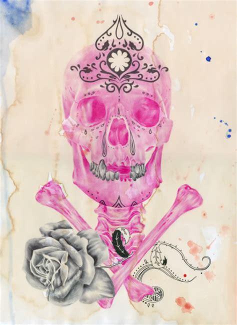 girly skulls wallpaper hdwallpapercom