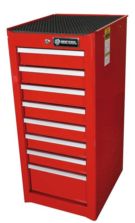 Side Cabinet Tool Box by Britool Expert Bscr8 8 Drawer Side Trolley Tool Box
