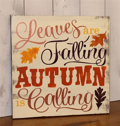 Fall Quotes For Signs Quotesgram