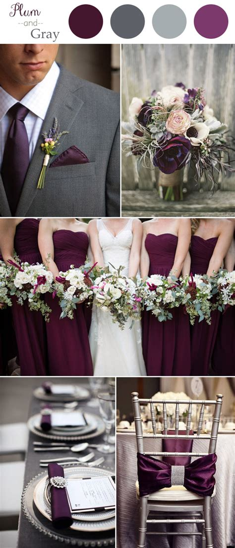 color schemes for weddings wedding colors 2016 10 color combination ideas to