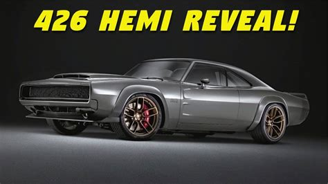 hemi engine finally revealed dodge super charger