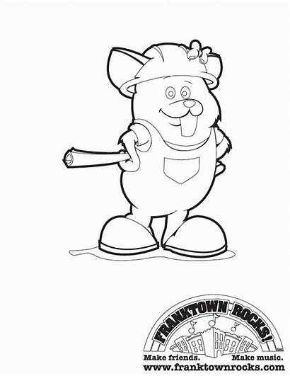 Coloring Pages Away Spirited Popular Hamster Totoro
