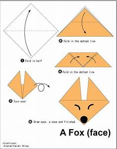 Easy Origami For Kids   Dog Face