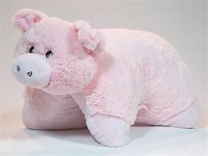 Pig Pet Pillow Piggy 18quot Soft Animal 2010 11 12 1499