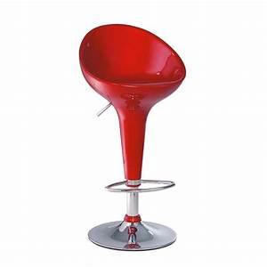 Tabouret Bar Maison Du Monde : tabouret de bar rouge sweet maisons du monde ~ Teatrodelosmanantiales.com Idées de Décoration