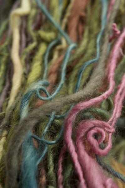 rainbow warrior  naturally dyed handspun local fiber eco