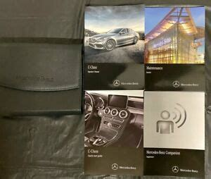 The online version of the owner's manual is the latest respective version available. Owners Manual 2009 Mercedes C-Class | eBay