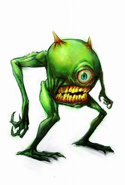 Mike Wazowski Monsters Inc Fan Drawing Deviantart