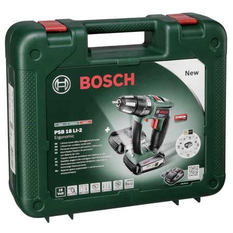 bosch psb 18 li 2 cordless combi drill review toolsreview uk