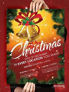 Christmas brochure templates free top 10 christmas party for Christmas flyer template free download