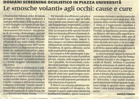 Mosche Volanti Cura Archivio News Miodesopsie Mosche Volanti