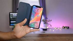 Hands-on: iPhone X Leather Folio - A Smart Case for your ...