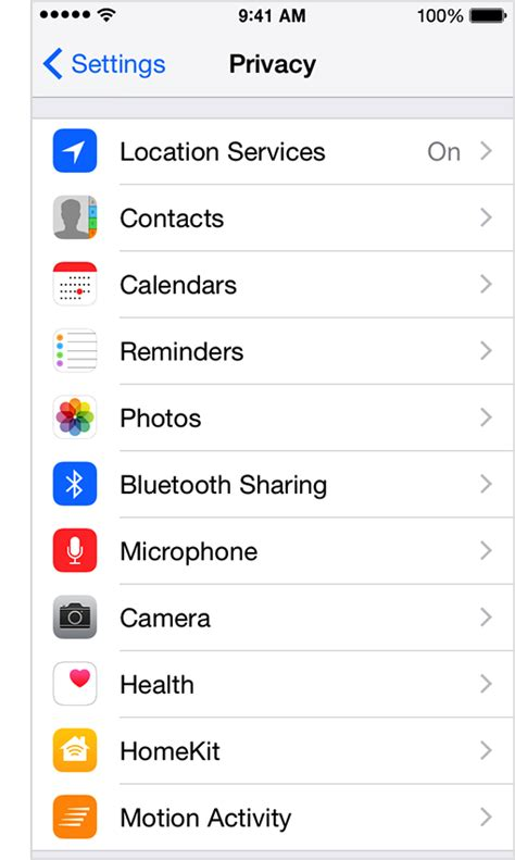 location services on iphone about privacy and location services using ios 8 on iphone