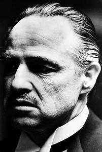 Marlon Brando As Don Vito Corleone In The Godfather Close ...