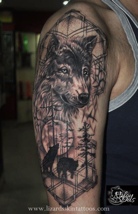 badass wolf tattoo tattoo