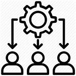Icon Workload Management Business Administration Structure Icons