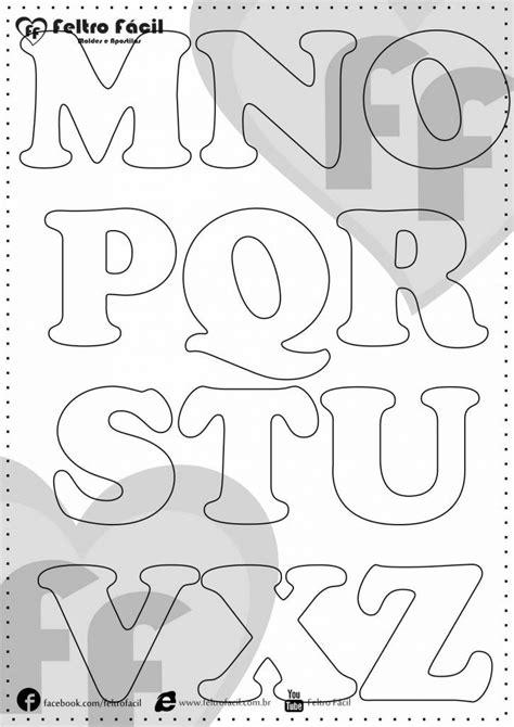 25 melhores ideias de letras em feltro no de feltro e da
