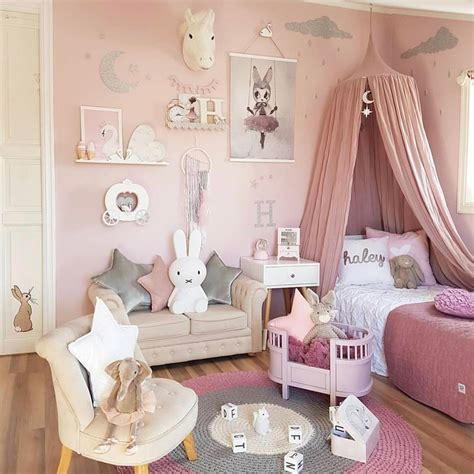 girls room decor  design ideas  colorfull picture