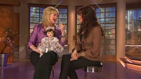 Marie Osmond And Qvc Host Mary Beth Roe