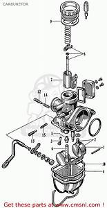 Honda S65  General Export Model  Carburetor