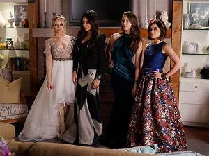 Pretty Little Liars: Aria, Spencer, Emily and Hana Are