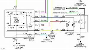 Ford Electric Mirror Schematic