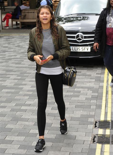zendaya  tights   hotel  london august