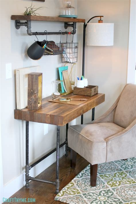 Building A Custom Industrial Wooden Desk • Craft Thyme. Custom Valances. All Modern Reviews. Rustic Kitchen Ideas. Wood Tile Patterns. Hand Blown Glass Pendants. Hanging Table. Appliancesconnection Reviews. Under Counter Freezer