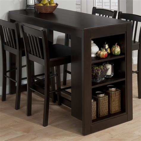 table and storage jofran 810 48 maryland counter height storage dining table