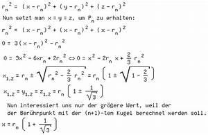 Volumen Einer Kugel Berechnen : mp exponentiell schnell matroids matheplanet ~ Themetempest.com Abrechnung