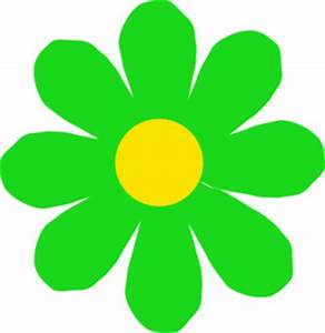 Bright Green Flower Clip Art at Clker.com - vector clip ...