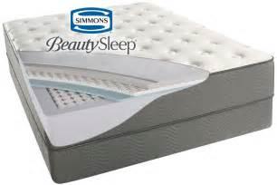 simmons king mattress simmons 174 beautysleep 174 beaver creek plush mattress