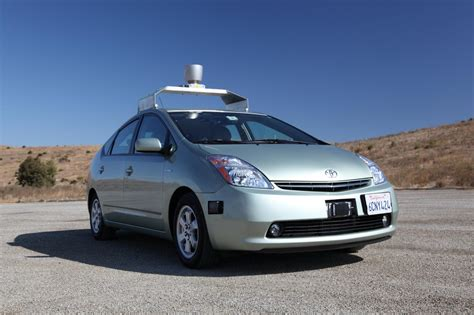 Driverless Google Car Awarded Patent