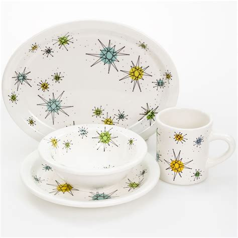 franciscan style dinnerware set perfect   retro