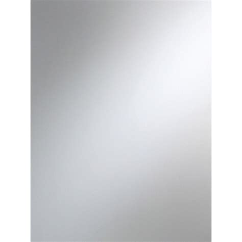 table en verre cuisine miroir clair l 100 x l 100 cm 3 mm leroy merlin