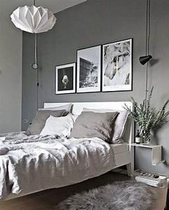 Chambre Grise Et Beige : chambre grise nos id es de nuances grises pour une d co r ussie ~ Melissatoandfro.com Idées de Décoration
