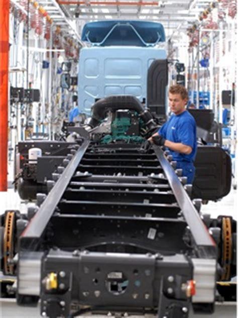 volvo truck manufacturing plants volvo restructuring truck manufacturing in europe