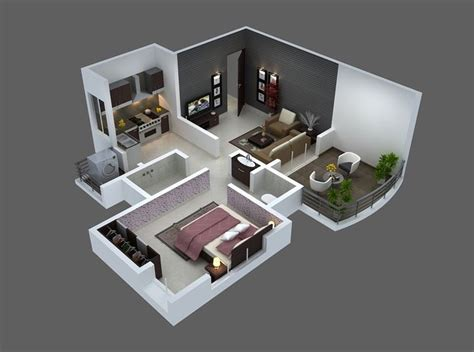 25 One Bedroom Houseapartment Plans by 25 One Bedroom House Apartment Plans I 231 Tasarım One