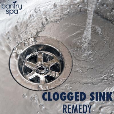 unclog sink drain remedy unclog drains  baking soda